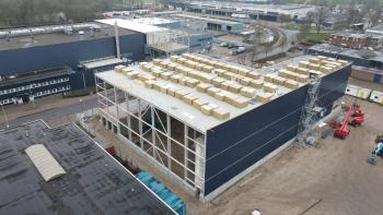 Nieuwbouw Scania Meppel in een vogelvlucht